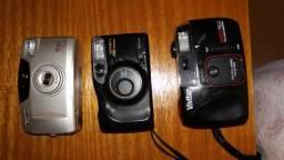 Câmeras fotográficas (3) analógicas