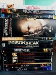 Lote de 53 DVDs Originais - Filmes variádos
