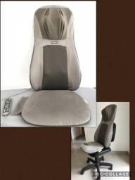Assento massageador de Shiatsu