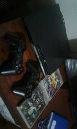 Playstation 3 slim completo barato ligue 993475969