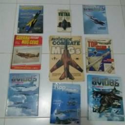 Coleções diversas Revistas de aviação militar e Armas de Guerra