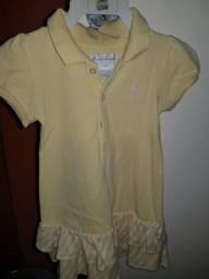 Vestido Ralph Lauren infantil