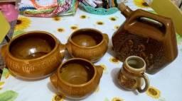 Potes de cerâmica 50 reais!!