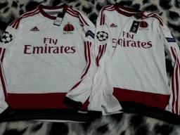 Camiseta time AC Milan