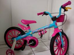 Bicicleta Infantil aro 16 Nathor Candy