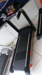 Esteira elétrica Athletic advanced 12 níveis de inclinação - pronta entrega