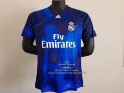 Camisa Real Madrid EA Sports 2018 19 60d5182591a52