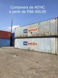 Container 40?HC por R$ 6.400,00 (Locarreefer)