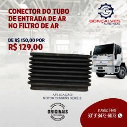 CONECTOR DO TUBO DE ENTRADA DE AR NO  FILTRO DE AR
