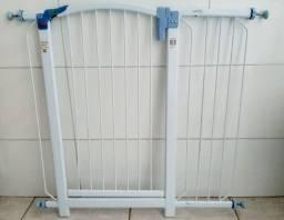 Portão kit proteção bebê ou pet impecável