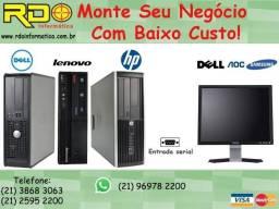 Computador Dell Hp Lenovo Intel Core2duo/2Gb/Hd160/Win7