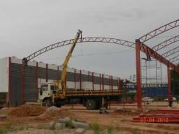 Serralheria, fabrica de galpões e estruturas