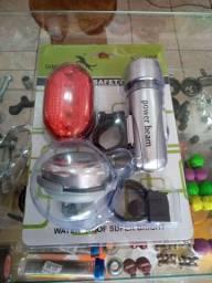 Promoção kit lanterna para bike