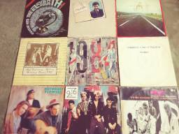 Lote 9 discos pop rock internacionais