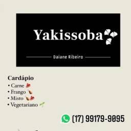 Yakissoba fresquinho e saboroso feito na hora