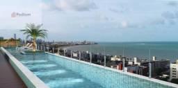 Apartamento à venda com 1 dormitórios em Manaíra, João pessoa cod:35074