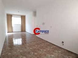 Apartamento com 3 dormitórios para alugar, 75 m² por R$ 1.262,00/mês - Macedo - Guarulhos/