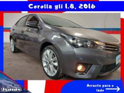 COROLLA 2016 1.8 GLI  FLEX 4P AUTOMÁTICO