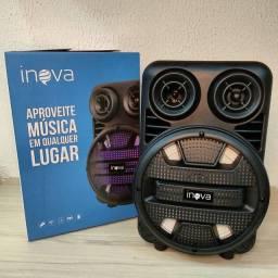 Caixa de Som Inova 30w, Rad 8536<br>FM - USB - SD - BLUETOOTH - AUX