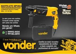Martelete Perfurador/ Rompedor - Vonder 850w MPV 853