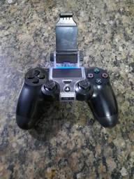 Vendo controle de ps4 com suporte pra jogar no celular