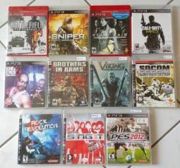 Lote de jogos PS3 (11 jogos)