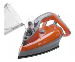 Ferro a Vapor Arno Supergliss FSX1 com Spray ? Cinza e Laranja<br><br>