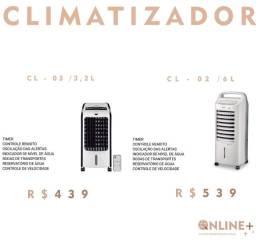 Climatizador entrego
