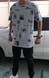 Título do anúncio: Camisa Cinza Masculina Tamanho GG