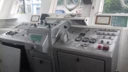 Painel de comando marítimo