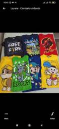 Camisetas personagens