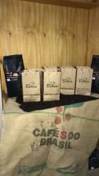 Café moído na hora : vendas de grãos