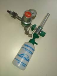 Regulador fluxiometro oxigênio