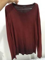 Camiseta maga longa Calvin Klein original - Tamanho P