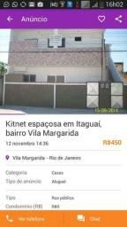 Alugo ampla kitnet em Itaguaí