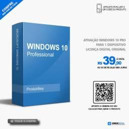 Ativação Windows 10 Pro Original