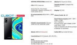 Cubot P40 4gb + 128gb 6.2 Polegada Nfc 4g Android 10 zero na caixa