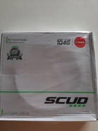 Kit transmissão scud aço 1045 top novo na caixa