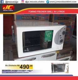 Forno eletrico Fischer grill 44 litros cc