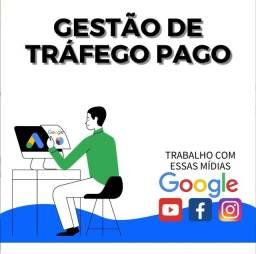 Gestor de Tráfego Pago Especialista Marketing digital - anúncios no Google ads e instagram