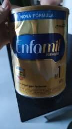 Lata de leite enfamil Premium de 0 a 6 meses