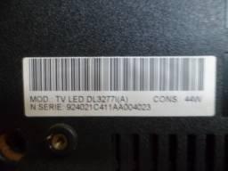 kit c/3 barra de led semp tv dl3277i(a) usada leia anuncio