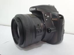 Nikon D3400 com 35mm f1.8g