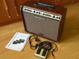 Amplificador Behringer ACX900 - Usado 2 vezes - Na caixa