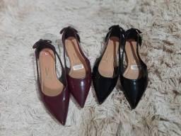 Dois pares sapatos femininos n 35