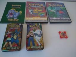 Kit Colecionar Filmes e Livreto Pokémon