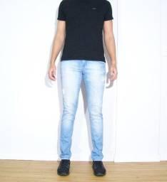 Título do anúncio: Calça Jeans Denuncia azul claro