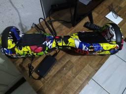 R$650 Scooter hoverboard elétrico novo 0 km na caixa