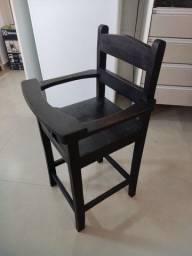 Título do anúncio: Cadeira alimentação madeira