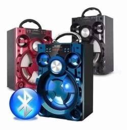 Título do anúncio: Caixa de Som Grasep C/ Bluetooth, Pen Drive e Rádio FM 800W